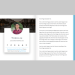 Rabin Resume Vcard Wordpress Theme
