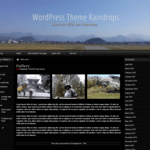 raindrops WordPress Theme