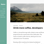 Rams Wordpress Theme