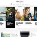 Readline Wordpress Theme