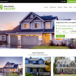 Real Estate Salient WordPress Theme