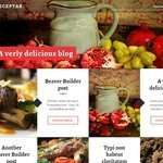 Receptar Wordpress Theme