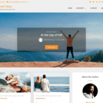 Refresh Blog WordPress Theme