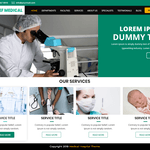 Relief Medical Hospital Wordpress Theme