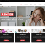 Renden Dark Wordpress Theme