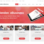 Renden eBusiness Wordpress Theme