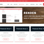 Renden Minimal Wordpress Theme