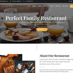 Restaurant Recipe Wordpress Theme