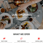 Restro Cafe WordPress Theme