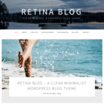 Retina Blog Wordpress Theme