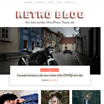 Retro Blog Wordpress Theme