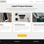 Reviewers Landing Page Wordpress Theme