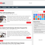 Ribbon Lite Wordpress Theme