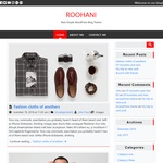 Roohani Wordpress Theme