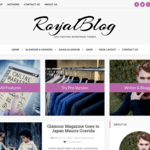 Royal Blog Wordpress Theme