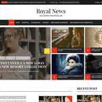 Royal News Wordpress Theme