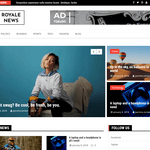Royale News Wordpress Theme