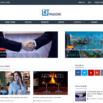 RT Magazine WordPress Theme