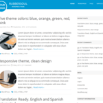RubberSoul Wordpress Theme