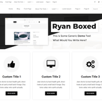 Ryan Boxed Wordpress Theme