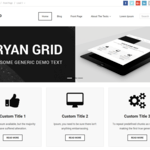 Ryan Grid Wordpress Theme