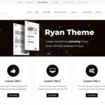 Ryan Minimal WordPress Theme