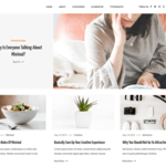 Saaya Wordpress Theme