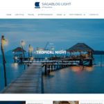 SagaBlog Light Wordpress Theme