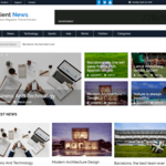 Salient News Wordpress Theme