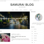 Samurai WordPress Theme