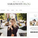 Saraswati Blog Wordpress Theme