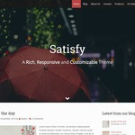 Satisfy Wordpress Theme