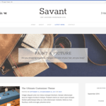 Savant Wordpress Theme