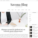 Savona Blog Wordpress Theme