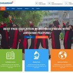 Scholarship Wordpress Theme