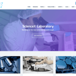 Sciencex Lite WordPress Theme