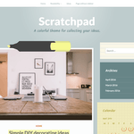 Scratchpad Wordpress Theme