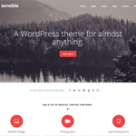 Sensible WP Wordpress Theme