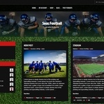 Seos Football Wordpress Theme