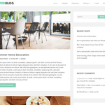 Shaped Blog Wordpress Theme