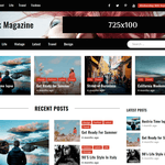Shark Magazine WordPress Theme