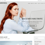 Shesha Wordpress Theme
