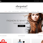 Shopstar Wordpress Theme