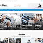Short News Wordpress Theme
