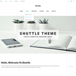 Shuttle Corporate Wordpress Theme
