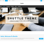 Shuttle goNews WordPress Theme