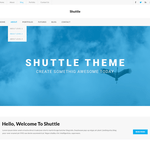 Shuttle iBusiness Wordpress Theme