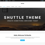 Shuttle iCorporate Wordpress Theme