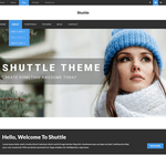 Shuttle News WordPress Theme