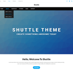 Shuttle Portfolio Wordpress Theme
